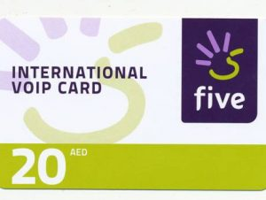 etisalat five calling card,five calling card uae,how to use five calling card,voip international calling cards