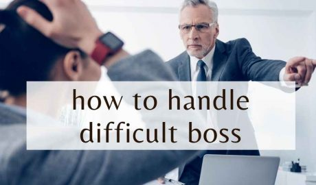 how to handle difficult boss