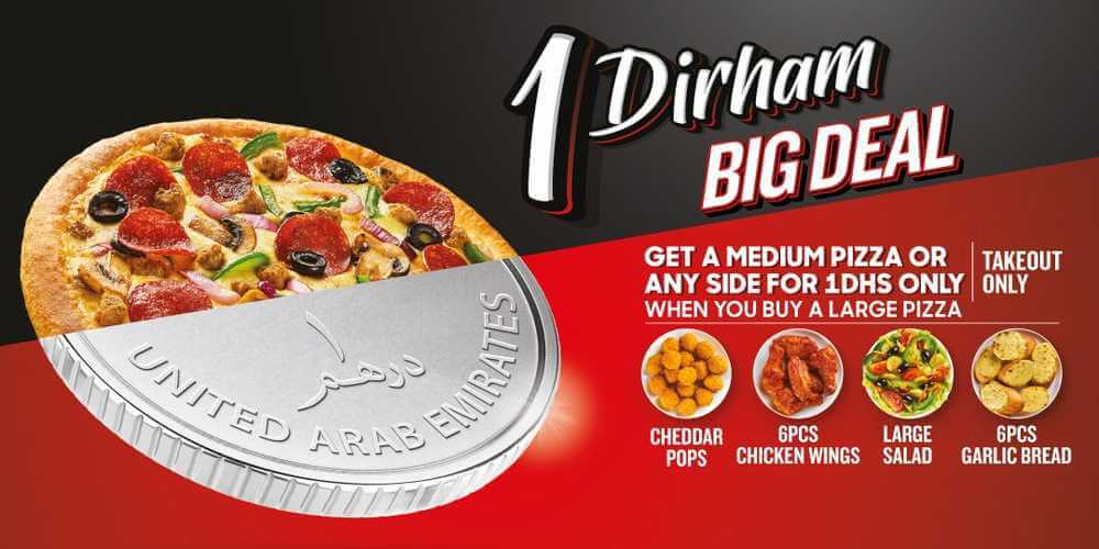 pizza hut offers sharjah