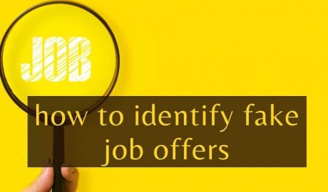 how to identify fake job offers