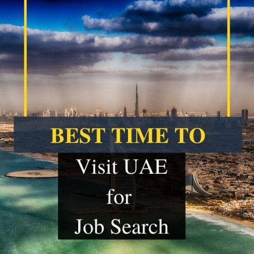 Best Time to Visit UAE for Job search